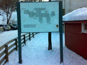 Oversiktsplan Krossen skole