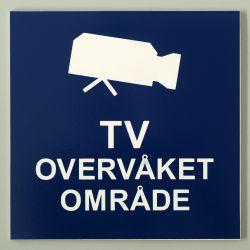 TV-overvåket område.