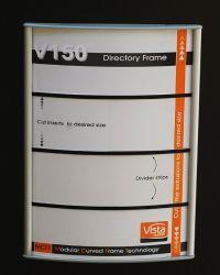 150x200mm dørskilt utskiftbar. Produktnummer til bestilling: WFP33