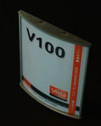 100x150mm utskiftbar dørskilt, passer A6. Produktnummer til bestilling: WFP7