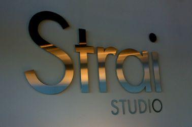 Fasadeskilt Strai studio