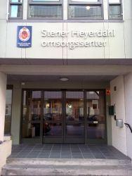 Fasadebokstaver Stener Heyerdahl omsorgssenter.