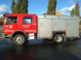 Dekorert brannbil